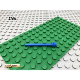 LEGO® 19Stk 1x1 Antenne Stab Stange Fahnenstange Classic Basic Blau, blue 3957