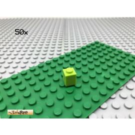 LEGO® 50Stk 1x1 Stein Basic Classic Limette Lime 3005