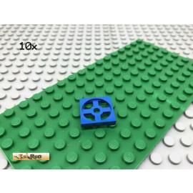 LEGO® 10Stk 2x2 Drehscheibe Drehplatte Drehteller Classic Basic Blau, blue 3680