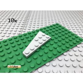 LEGO® 10Stk 3x6 Flügel Keil Platte Plate Flach Hellgrau 54383