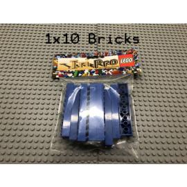 LEGO® 10Bricks 2x10 Basicstein Basic Classic Blau Blue 3006