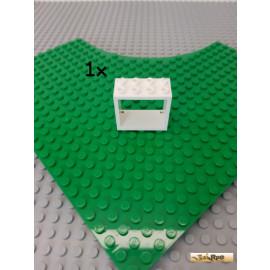 LEGO® 1Stk Fensterrahmen 2x4x3 weiß 60598