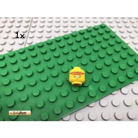 LEGO® 1Stk Minifigur Kopf Head Gesicht Gelb Yellow