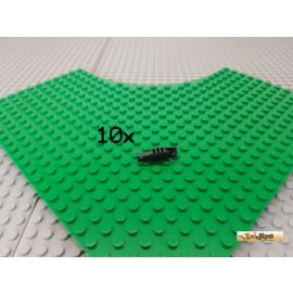 LEGO® 10Stk Technic Gelenk / Scharnier mit Pin schwarz 41532