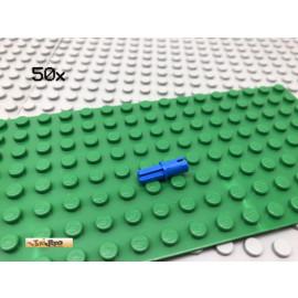 LEGO® 50Stk Technic Kreuz Pin Verbinder Blau Blue 43093