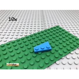 LEGO® 10Stk 2x3 Platte Flügelplatte Keil Flügel azur Blau 43722