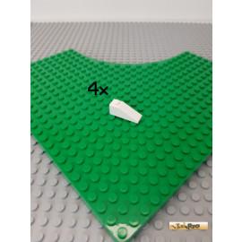 LEGO® 4Stk Schrägstein / Dachstein 1x3 weiß 4286