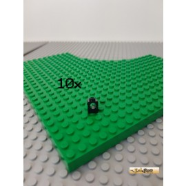 LEGO® 10Stk Technic Lochstein 1x1 schwarz 6541