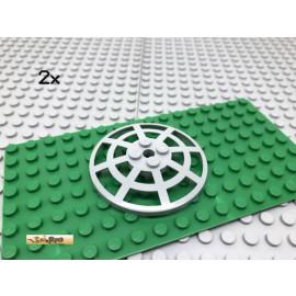 LEGO® 2Stk 6x6 Schüssel Radar Gitter Hellgrau 4285