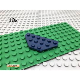 LEGO® 10Stk 3x6 Platte Plate Flügelplatte Dunkel Blau Dark Blue 2419