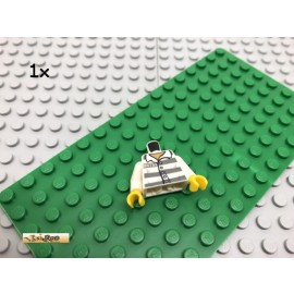 LEGO® 1Stk Minifigur Oberkörper Gefängnis Verbrecher Bedruckt