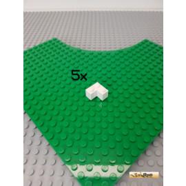 LEGO® 5Stk Ecke 2x2 weiß 2357