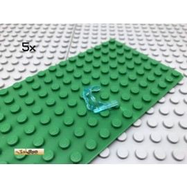 LEGO® 5Stk Minifigur Taucherbrille transparent hellblau 30090