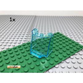 LEGO® 1Stk 3x4x3 Windschutzscheibe Scheibe Transparent Blau 84954