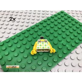 LEGO® 2Stk Minifigur Oberkörper Sommerkleid Kleid Bedruckt