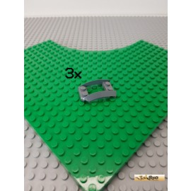 LEGO® 3Stk 3x4 Kotflügel Fahrzeug neu-dunkelgrau 47755