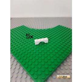 LEGO® 5Stk Bogenstein / Brückenstein 1x4 weiß 3659