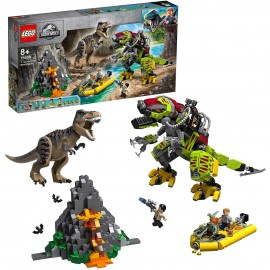 LEGO® Jurassic World T. rex vs. Dino-Mech