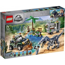 LEGO® Jurassic World Baryonyxs Kräftemessen