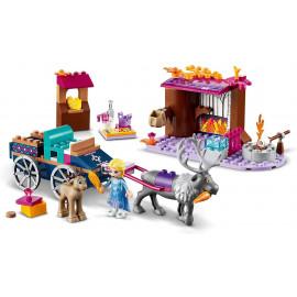 LEGO® Disney Elsa und die Rentierkutsche