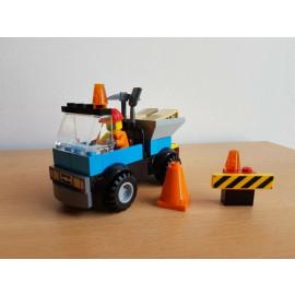 Lego City Straßenbaufahrzeug
