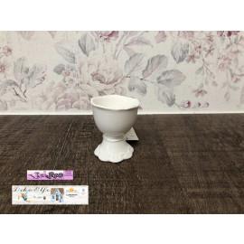 Chic Antique Eierbecher Porzellan weiß Provence 63103-01