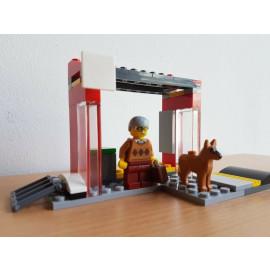 Lego City Bushaltestelle aus dem Set 60154