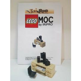 Lego Schreibtisch ( iripro MOC )