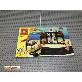 LEGO® 3833 Bauanleitung NO BRICKS!!!! SpongeBob