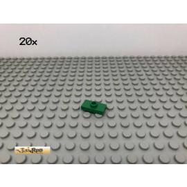 LEGO® 20Stk 1x2 Fliese mit 1 Noppe Platte Plate Grün, Green 3794 87