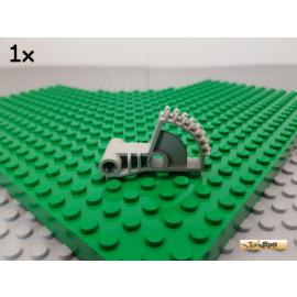 LEGO® 1Stk Technic Zahnstange / Rad / Winkel alt-hellgrau 41667