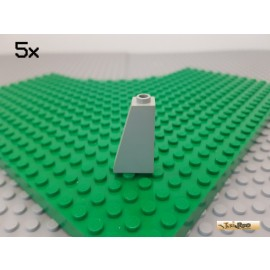LEGO® 5Stk Dachstein / Schrägstein 1x2x3 75° alt-hellgrau 4460