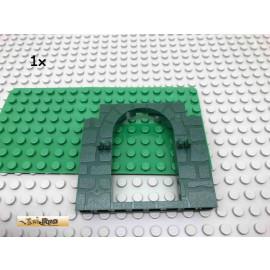 LEGO® 1Stk 1x6x8 Tür Rahmen Stein Mauer Dunkelgrün, Dark Green 40242 46
