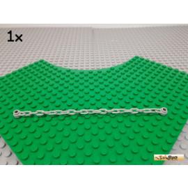LEGO® 1Stk Kette / Chain 21 Glieder 17 lang alt-hellgrau 30104