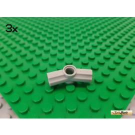 LEGO® 3Stk Technic Achs / Pin Verbinder Nr. 5 157° alt-hellgrau 32016