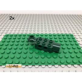 LEGO® 2Stk 2x3 Technic Rotation Gelenk Dunkelgrün, Dark Green 47454 30
