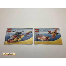Lego 5866 Bauanleitung NO BRICKS!!!! Creator
