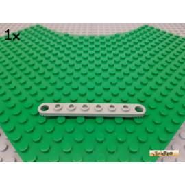 LEGO® 1Stk Technic Verbinder / Leiste / gezahnt 1x8 alt-hellgrau 4442