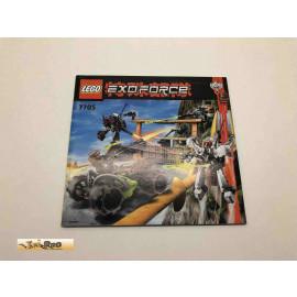 Lego 7705 Bauanleitung NO BRICKS!!!! Exoforce