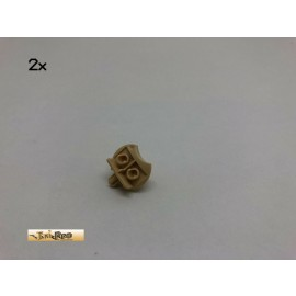 LEGO® 2Stk Figur Halter Baseball Feld Brick Beige, Tan 43372 130