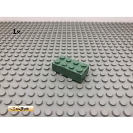 LEGO® 1Stk 2x4 Basic Stein Sandgrün, Sandgreen 3001 35