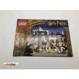 Lego 4705 Bauanleitung NO BRICKS!!!! Harry Potter