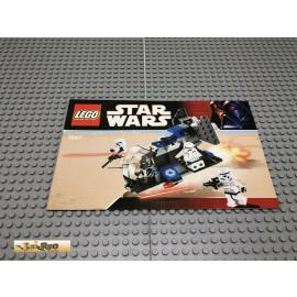 LEGO® 7667 Bauanleitung NO BRICKS!!!! Star Wars