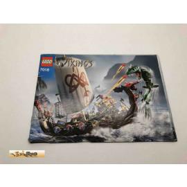 Lego 7018 Bauanleitung NO BRICKS!!!! Wikings