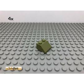 LEGO® 4Stk 2x2 45° Dachstein Schrägstein Olivgrün,olive green 3039 10