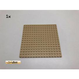 LEGO® 1Stk 16x16 Grundplatte Brick Beige, Tan 3867