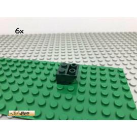 LEGO® 6Stk 2x2 45° Dachstein Schrägstein Negativ Dunkelgrün, Dark Green 3660 56