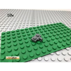 LEGO® 10Stk 1x2 Platte Plate Scharnier Gelenkplatte Dunkel Grau, Dark Gray 44567