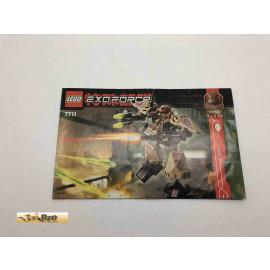 Lego 7711 Bauanleitung NO BRICKS!!!! Exoforce