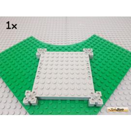 LEGO® 1Stk Grundplatte / Turmplatte 12x12 alt-hellgrau 30645